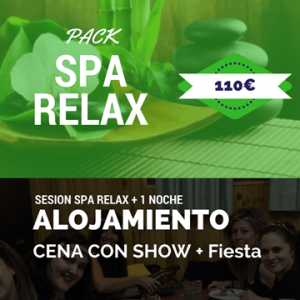 despedida de soltera pack spa relax