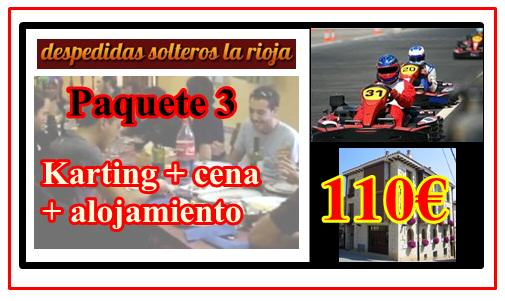 paquete karting